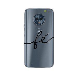 Capa para Moto G6 - Fé