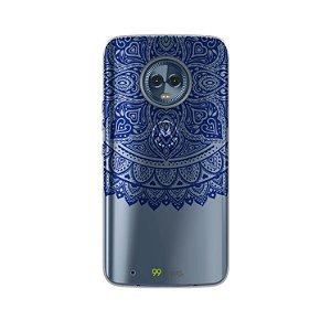 Capa para Moto G6 Plus - Mandala Azul