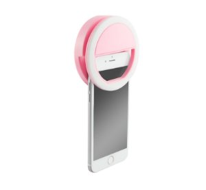 Selfie Ring Light Rosa