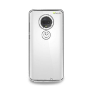 Capa Transparente Anti-Shock para Moto G7 Plus