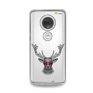 Capa para Moto G7 Plus - Alce Hipster