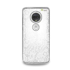 Capa para Moto G7 Plus - Rendada