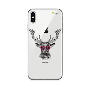Capa para iPhone XS Max - Alce Hipster