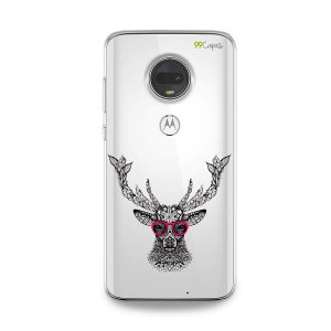 Capa para Moto G7 - Alce Hipster