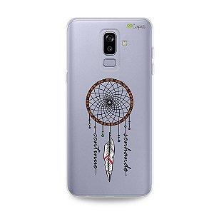 Capa para Galaxy J8 - Continue Sonhando