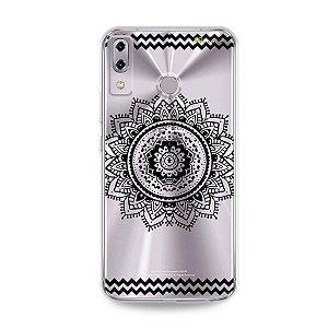 Capa para Asus Zenfone 5 e 5Z - Mandala Preta