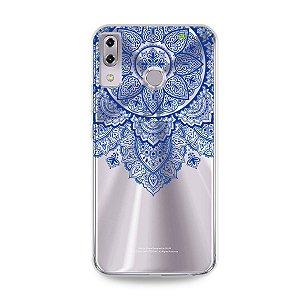Capa para Asus Zenfone 5 e 5Z - Mandala Azul