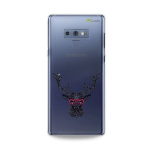 Capa para Galaxy Note 9 - Alce Hipster