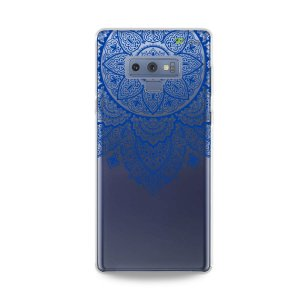 Capa para Galaxy Note 9 - Mandala Azul