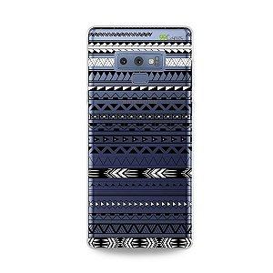Capa para Galaxy Note 9 - Maori Branca
