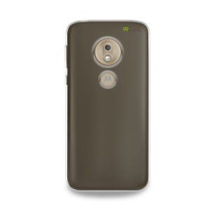Capa Fumê Anti-Shock para Moto G7 Play {Semi-transparente}