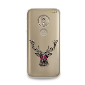 Capa para Moto G7 Play - Alce Hipster