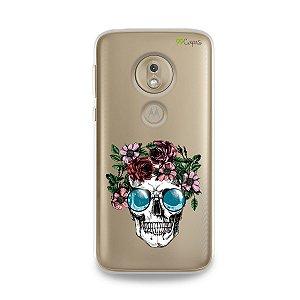 Capa para Moto G7 Play - Caveira