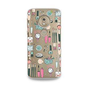 Capa para Moto G7 Play - Make Up
