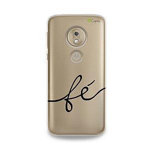 Capa para Moto G7 Play - Fé