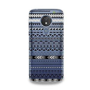 Capa para Moto G7 Power - Maori Branca