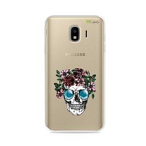 Capa para Galaxy J4 2018 - Caveira