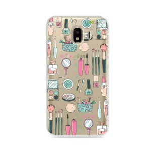 Capa para Galaxy J4 2018 - Make Up
