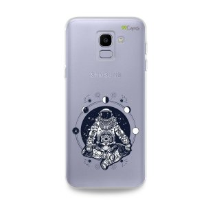 Capa para Galaxy J6 - Astronauta