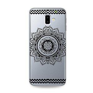 Capa para Galaxy J6 Plus - Mandala Preta