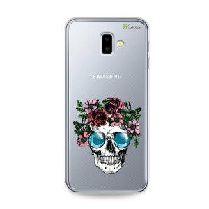 Capa para Galaxy J6 Plus - Caveira