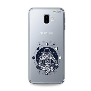 Capa para Galaxy J6 Plus - Astronauta