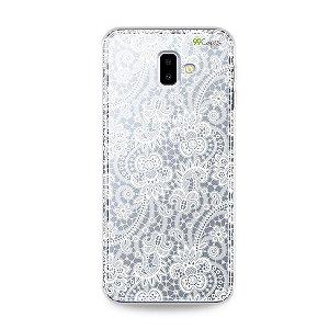 Capa para Galaxy J6 Plus - Rendada