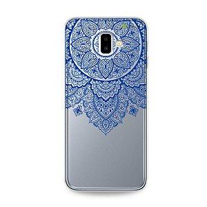 Capa para Galaxy J6 Plus - Mandala Azul