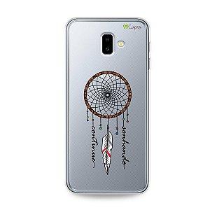 Capa para Galaxy J6 Plus - Continue Sonhando