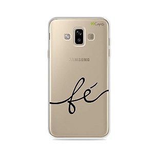 Capa para Galaxy J7 Duo - Fé