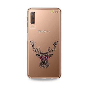 Capa para Galaxy A7 2018 - Alce Hipster