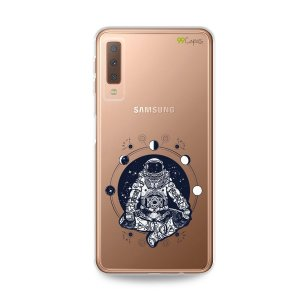 Capa para Galaxy A7 2018 - Astronauta