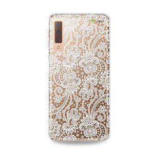 Capa para Galaxy A7 2018 - Rendada
