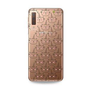 Capa para Galaxy A7 2018 - Catcorn