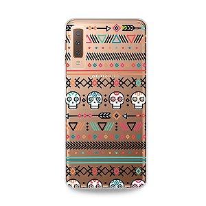 Capa para Galaxy A7 2018 - Tribal