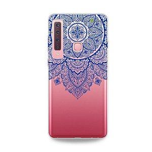 Capa para Galaxy A9 2018 - Mandala Azul