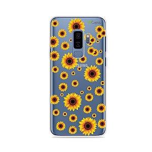 Capa para Galaxy S9 Plus - Girassóis