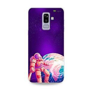 Capa para Galaxy J8 - Selfie Galáctica