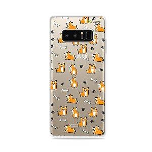 Capa para Galaxy Note 8 - Cãozinho