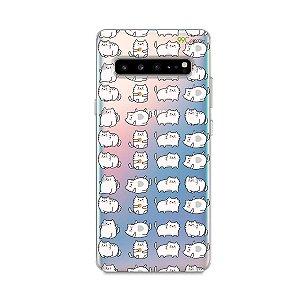 Capa para Samsung Galaxy S10 - Lazy Cat