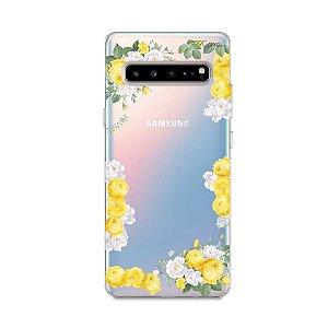 Capa para Samsung Galaxy S10 - Yellow Roses