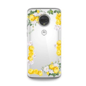 Capa para Moto G7 - Yellow Roses