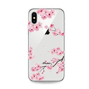 Capa para iPhone X/XS - Cerejeiras