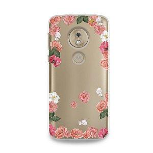 Capa para Moto G7 Play - Pink Roses