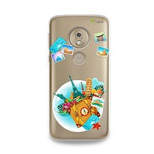 Capa para Moto G7 Play - Memórias