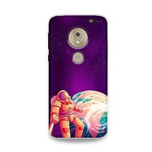 Capa para Moto G7 Play - Selfie Galáctica