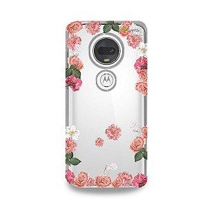 Capa para Moto G7 Plus - Pink Roses