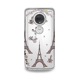 Capa para Moto G7 Plus - Paris