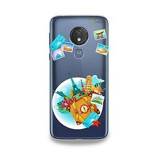 Capa para Moto G7 Power - Memórias