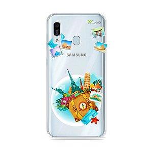 Capa para Galaxy A30 - Memórias